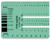 C-Thru Graphic Arts Type Gauge Ruler