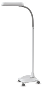 Floor Lamp with Wheelbase