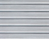 Example of painted Ribbed Roof/Corrugated Siding, 1:24 Scale
