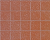 Example of painted Square Tile, 1/2&quot;