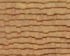 Example of painted Wood Shake Shingle, 1:48 Scale