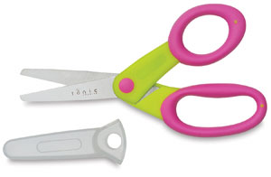 "5"" Kids' Craft Scissors, Yellow"