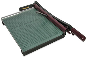 StakCut Green Board Paper Trimmer, 15&quot; Cut