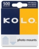 Photo Mounts, Pkg of 500