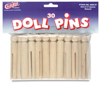 Doll Pins