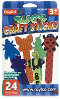 Roylco Craft Sticks