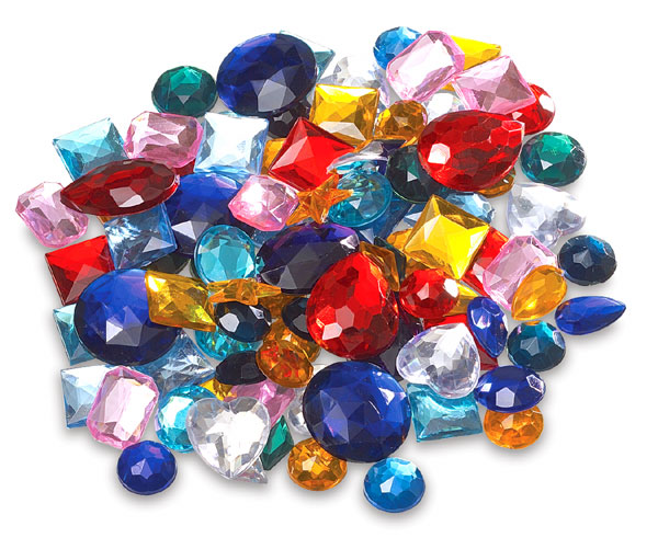 creativity acrylic gems blick materials