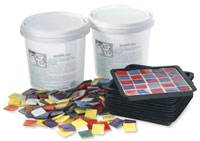 Mosaic Coaster Mold and Kit