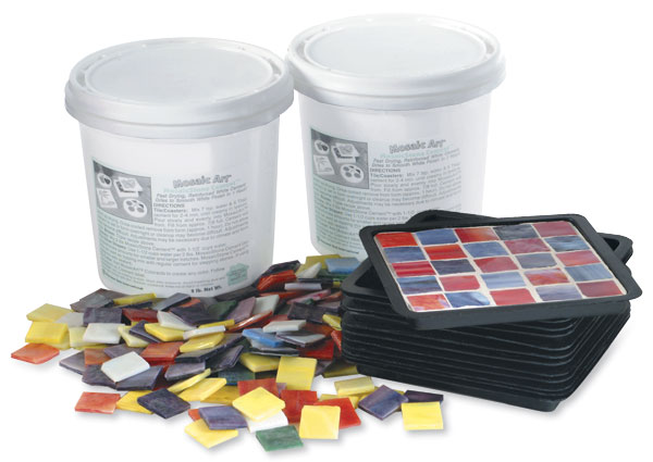 Mosaic Coaster Kit, Square