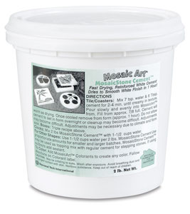 Mosaic Stone Indoor Cement, 2&amp;nbsp;lb