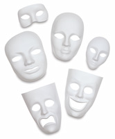Plastic Face Masks