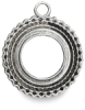Antique Silver Round, Front