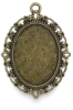 Brass Oval, Front
