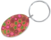 Oval Keychain, Sample Artwork