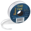 Satin Jewelry Cord, White