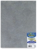 Glitter Foamies Sheet, Silver