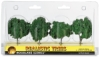 Ready Made Trees, Medium Green, 2&quot; &ndash; 3&quot;