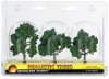 "Ready Made Trees, Medium Green, 3"" – 4"""