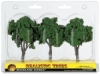 "Ready Made Trees, Medium Green, 4"" – 5"""