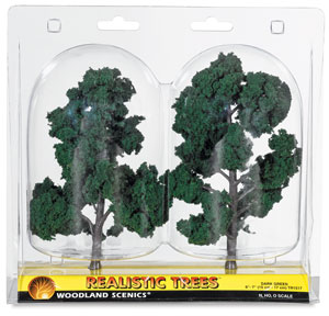 Ready Made Trees, Dark Green, 6&quot; &amp;ndash; 7&quot;