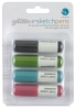 Sketch Pen Glitter Pack, Set of 4