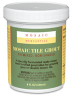 Mosaic Mercantile Pre-mixed Tile Grout