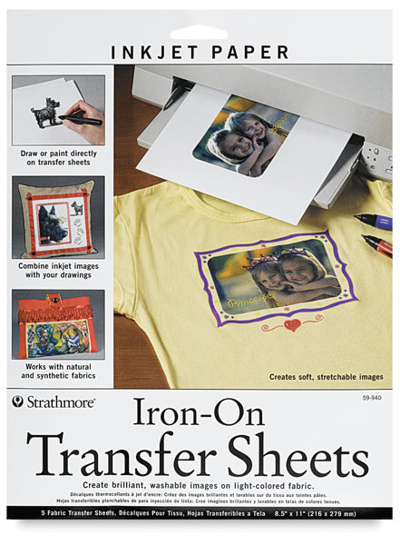 iron on transfer paper michaels Iron on transfers for t-shirts, tote bags, and other fabrics iron on transfers for t-shirts, tote bags if you're using iron on transfer paper for darks.