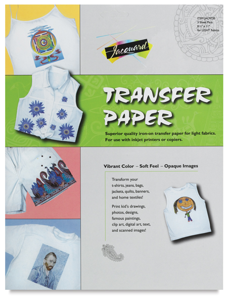 iron on transfer paper instructions Just follow the easy instructions below to find out  transfer paper– iron-on  paper (also called heat transfer, image transfer, or press paper) you can buy this  at.
