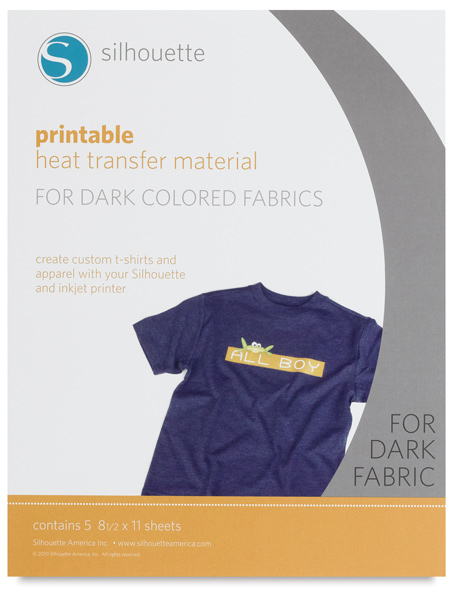 Heat Transfer Material for Dark Fabrics