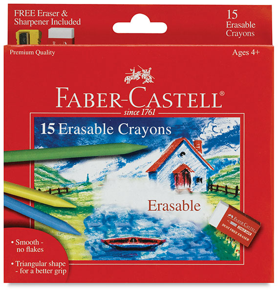Erasable Crayons, Set of 15