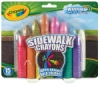 Crayola Washable Sidewalk Crayons