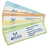Art Display Cards, Disciplines of Art, Set of 16  NEW!