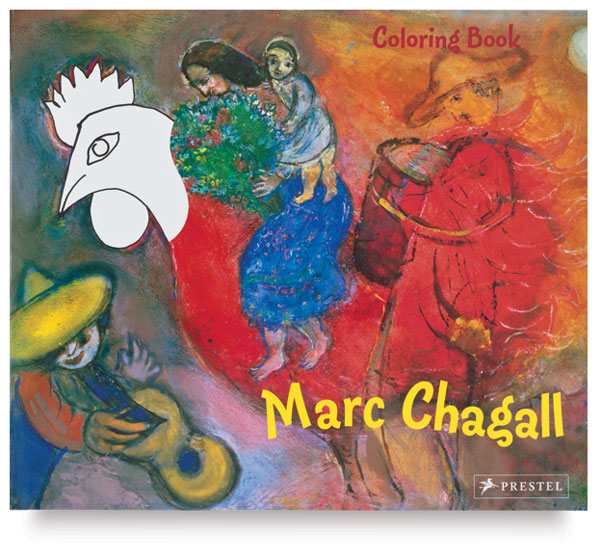 Marc Chagall Coloring Book
