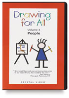 Crystal Productions Drawing for All: People DVD