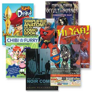 Watson Guptill Comic and Manga Books