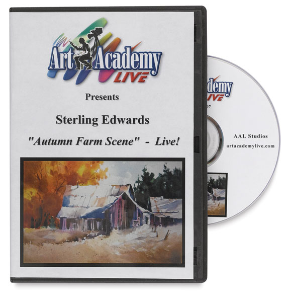 Autumn Farm Scene by Sterling Edwards DVD