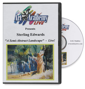 Semi-Abstract Landscape by Sterling Edwards DVD