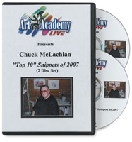 Top 10 Snippets of 2007 by Chuck McLachlan 2-DVD Set