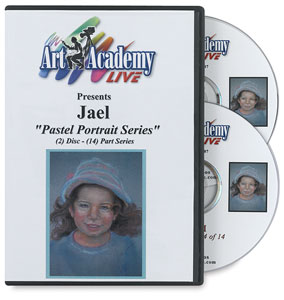 Pastel Portrait Series by Jael 2-DVD Set