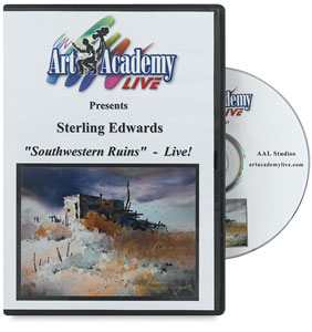 Southwestern Ruins by Sterling Edwards DVD