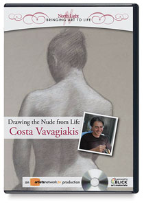 Drawing the Nude from Life with Costa Vavagiakis