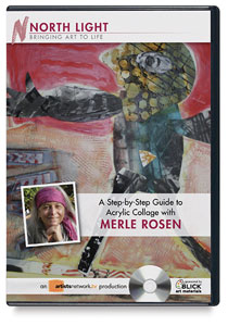 A Step-by-Step Guide to Acrylic Collage with Merle Rosen