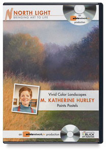 Vivid Color Landscapes: M. Katherine Hurley Paints Pastels