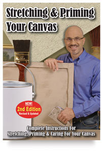 Stretching and Priming Your Canvas, 2nd Edition DVD