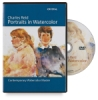 Crystal Productions Charles Reid: Portraits in Watercolor DVD