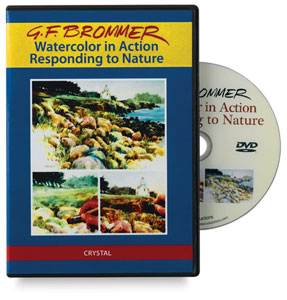 Gerald Brommer: Watercolor in Action Responding to Nature