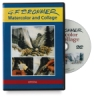 Crystal Productions Gerald Brommer: Watercolor &amp; Collage DVD