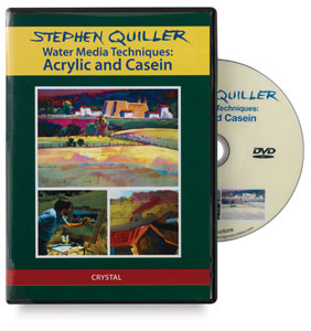 Stephen Quiller: Water Media Techniques: Acrylic &amp; Casein