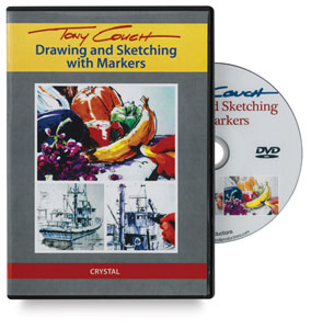 Tony Couch: Drawing &amp; Sketching with Markers