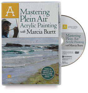 Mastering Plein Air Acrylic Painting with Marcia Burtt